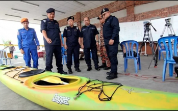 Search and rescue for missing kayakers extended to Kerteh waters