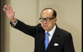 Hong Kong tycoon Li Ka-shing calls for love amid protests