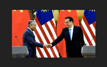 Under Mahathir, Malaysia makes bold move to embrace China