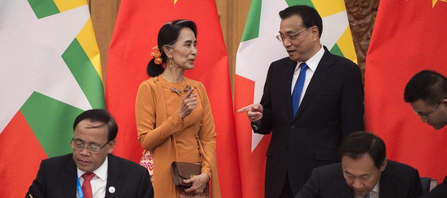 China woos Myanmar with BRI sweeteners