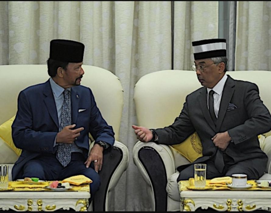 Agong extols Malaysia-Brunei bilateral ties