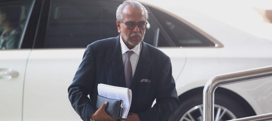 Najib's trial postponed again due to conjunctivitis