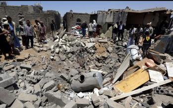 Saudi-led coalition strikes north of Hodeidah in Yemen