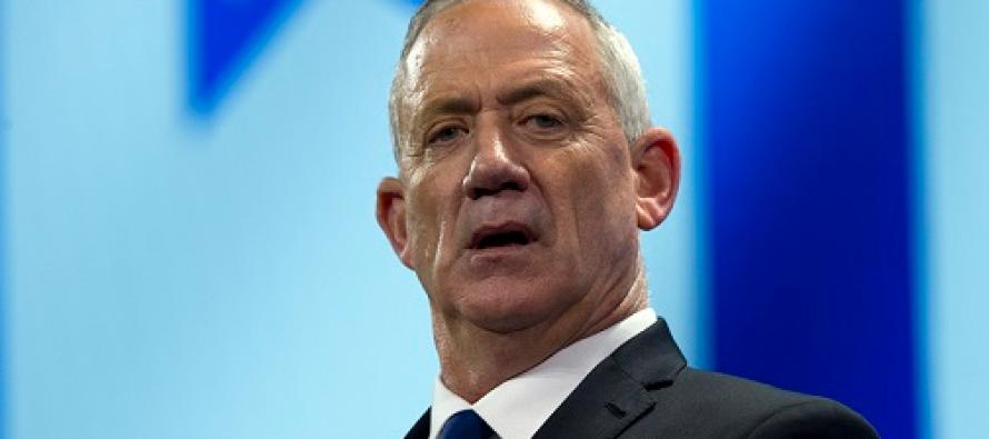 Israel's Arab party support Gantz for premiership