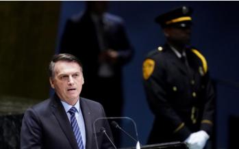 Amazon fires: Bolsonaro accuses media of 'lying'