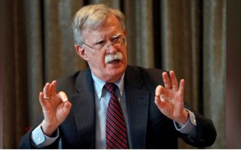 U.S. national security adviser John Bolton axed