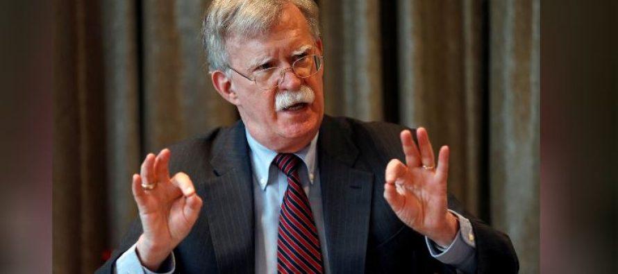 U.S. national security adviser John Bolton axed