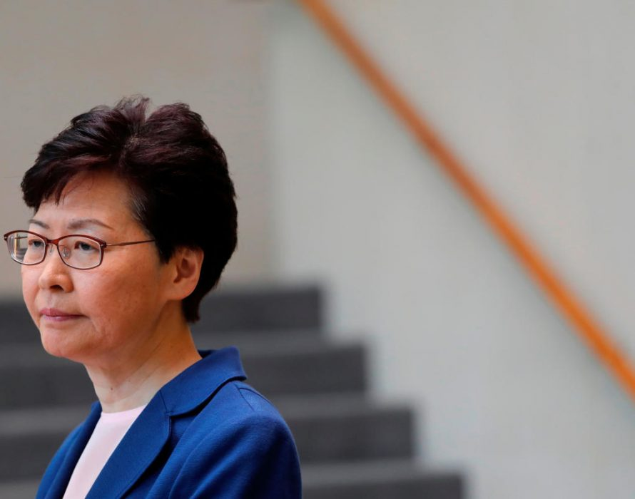 Hong Kong leader to kill bill,  too little, too late