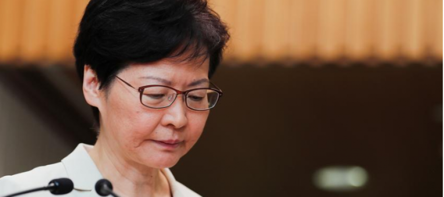 No loudhailers, umbrellas allowed at talks with Hong Kong leader