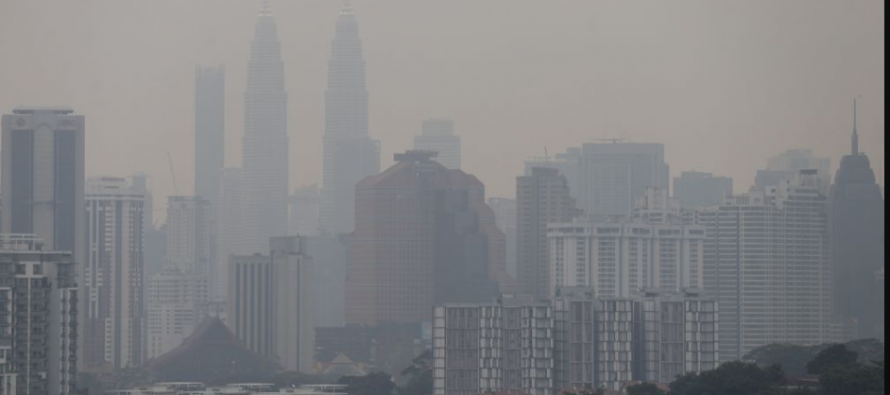 No stations recorded good air quality