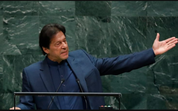 Pakistan's Imran Khan warns of nuclear war over Indian Kashmir