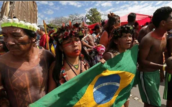 Amazon fires: Indigenous tribes pray for divine help