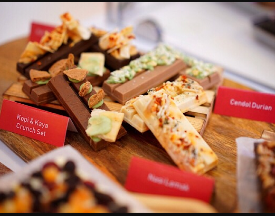 KITKAT chocolatory launches Malaysian inspired flavours