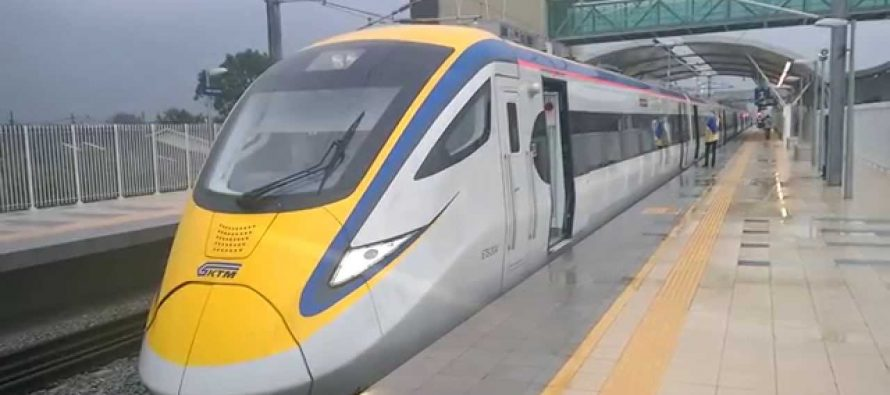 Business class seats on ETS2 introduced by KTMB