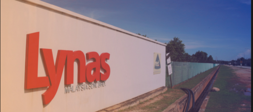 No increase in background radiation level around Lynas