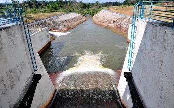 Water level at Machap Dam critical