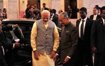 Dr Mahathir – Modi meet up in Russia