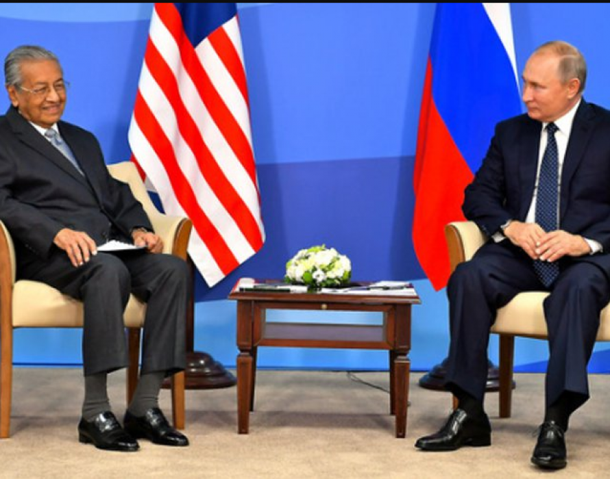 Dr M: Cannot avoid talking about MH17 with Putin