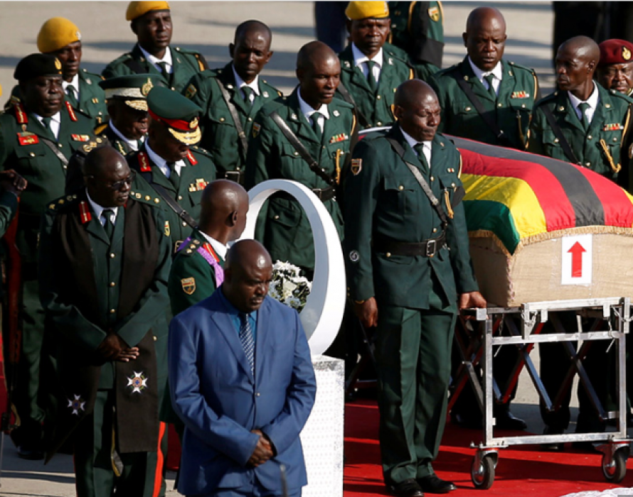 Zimbabwe bids its founder Mugabe farewell