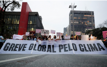 Brazilian climate strikers blame Bolsonaro for Amazon fires