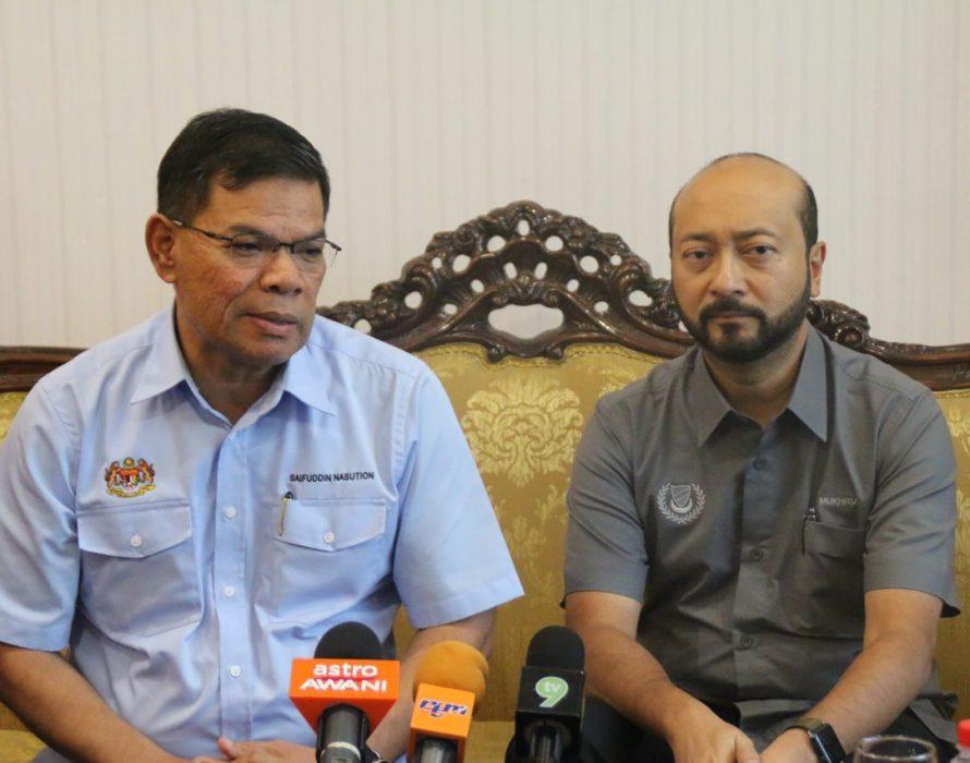 Saifuddin to replace Muhyiddin?