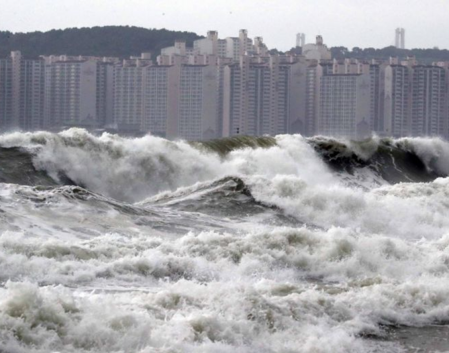 Typhoon Lingling: One dies, hundreds of accidents in South Korea