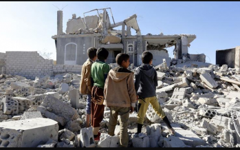 UN: About 350,000 people displaced in Yemen
