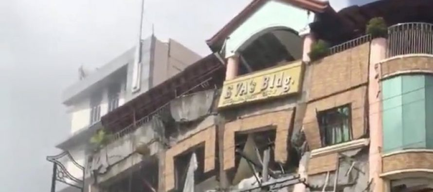 New powerful quake hits South Philippines