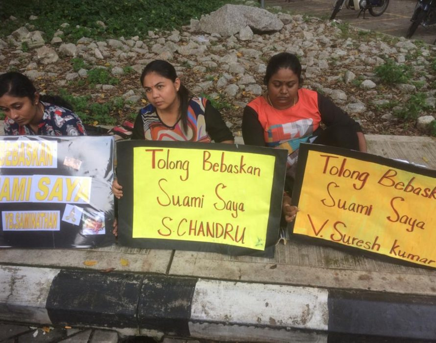 The woman who squeezed an orange and made a vow on Deepavali day