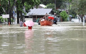 Penang floods: one relief centre opened in Jawi to house 54 victims