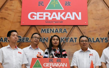 Wendy Subramaniam named as candidate for Gerakan in Tg Piai by-election