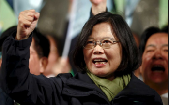 Tsai tells China to back-off, vows to defend Taiwan's democracy