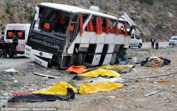 Bus mishap in Turkey: One Malaysian dead, 10 hurt