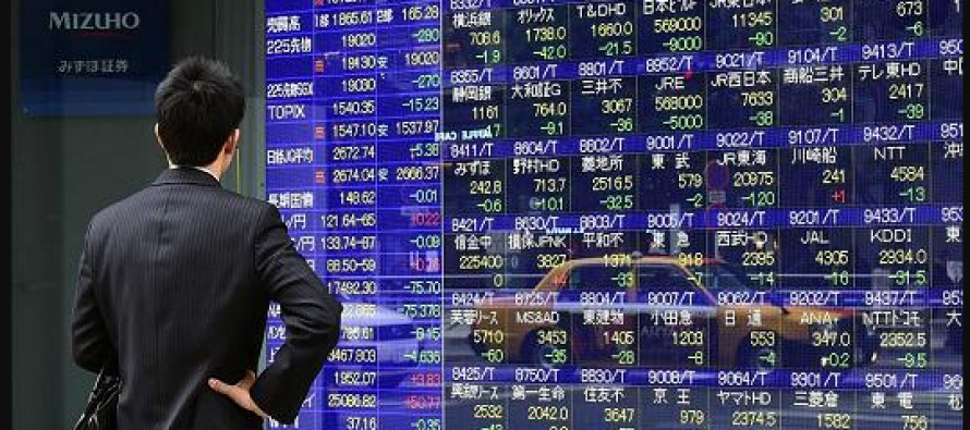 Asian stocks dips after US announces tariffs on Europe