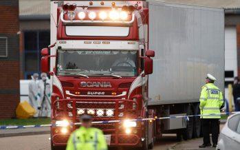 39 bodies found in truck container