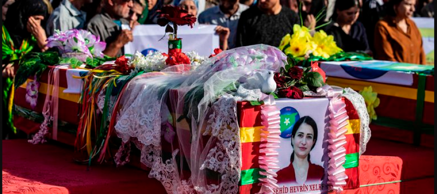 For Syrian Kurds, a leader's killing deepens pain of US betrayal