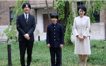 Fate of Japan's imperial dynasty rests on shoulders of 13-year-old