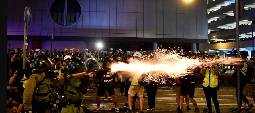 Another teen shot after HK imposes emergency powers