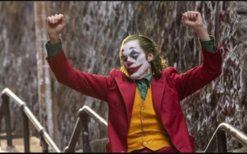 The Joker morphs from campy clown to a terrifying madman