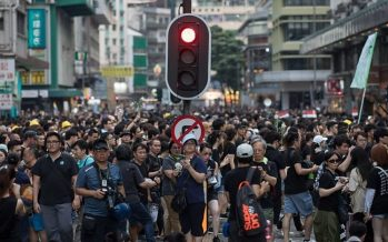 Hong Kong protesters to rally for Catalan separatists as China speaks out