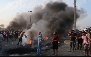 Iraqi protests: Death toll soars to 104