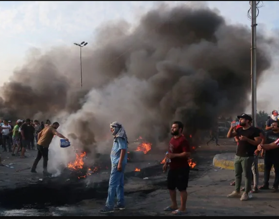 Protests resume in Iraq's Sadr City