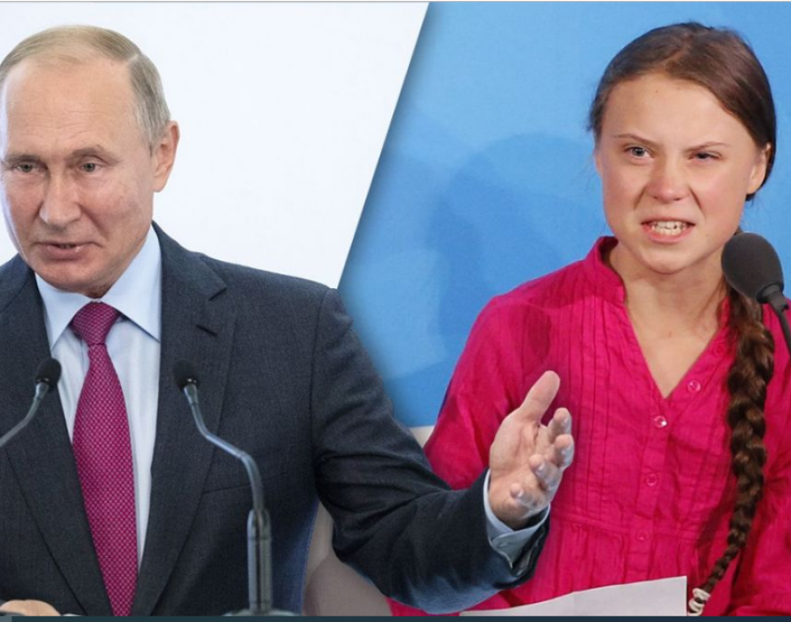 Russian strongman Putin unimpressed by Thunberg's UN speech