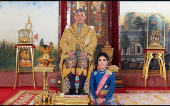 Thai king strips 'disloyal' new royal consort of titles