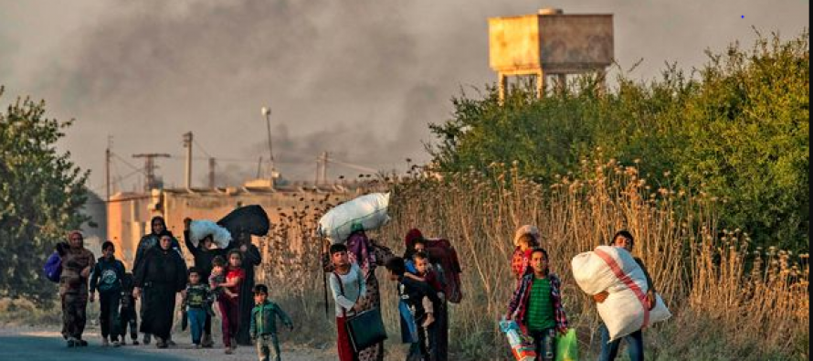 Turkey and Islamic State strike Syrian Kurds