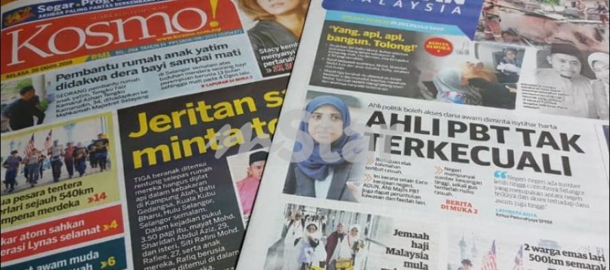 End of the road for Utusan Malaysia