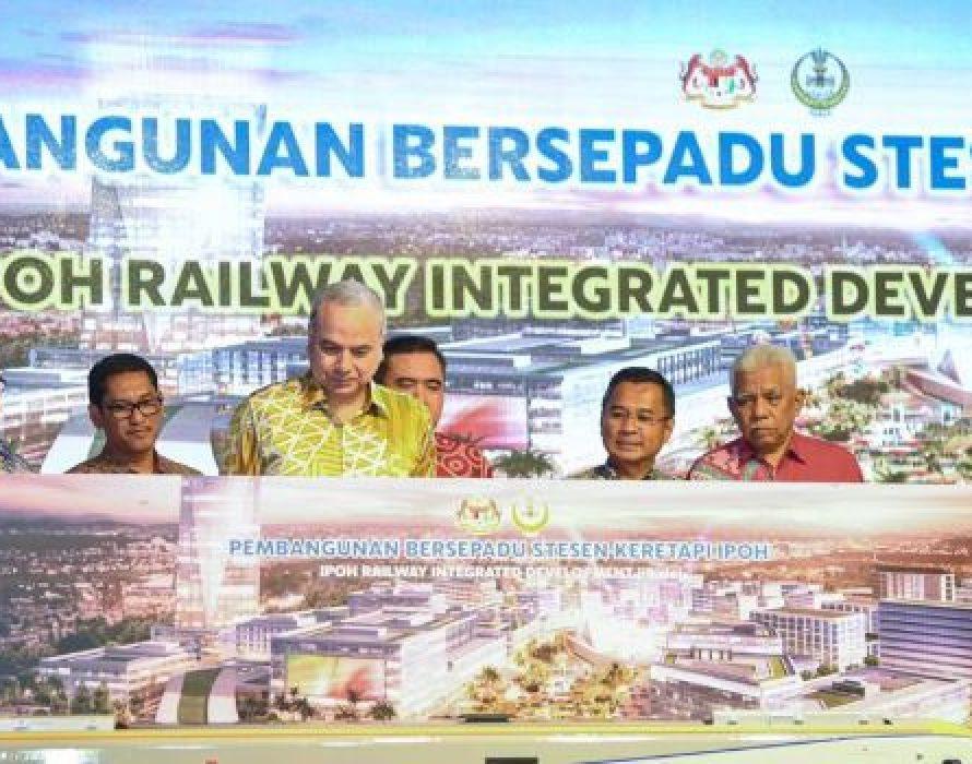 Transport Ministry: RM5 billion for Ipoh Train Station Integrated Development