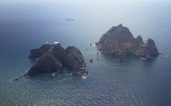 Submarine rescue ship mobilised to find victims of crashed chopper near Dokdo