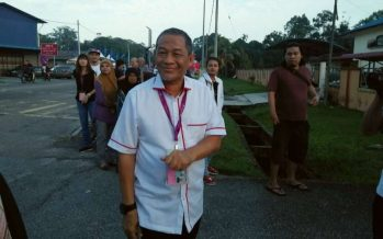 Karmaine, Wee among first to vote in Tanjung Piai