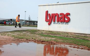 Lynas made an application for PDF site
